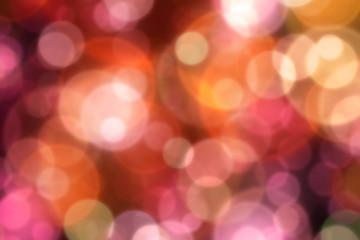 Hintergrund - Bokeh orange Pracht