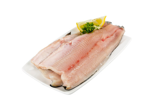 Trout fillet with skin, Forellenfilet mit Haut