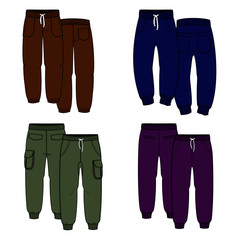 Color trousers