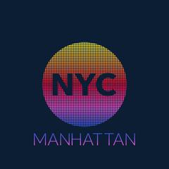New York typography, t-shirt graphics. Vector illustration