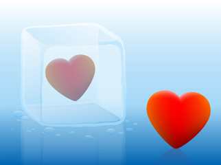 Cold Heart Ice Cube