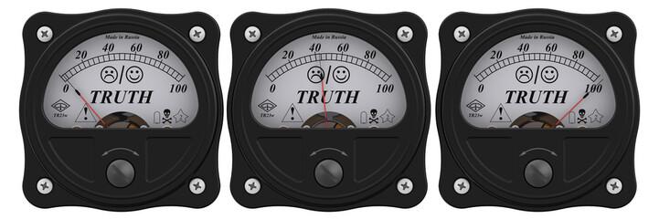 Indicator of truth