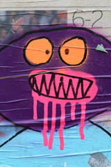 Street art - Graffiti + aérosol