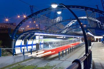 tram station K Barrandovu, Barrandov, Prague, Czech republic