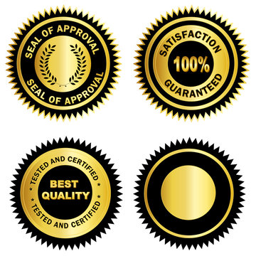 Gold seal /Stamp