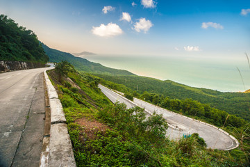 Hai Van pass Wall mural