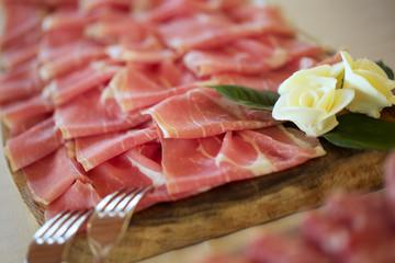 salami buffet