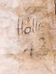 Foto op Plexiglas Graffiti Hölle 12