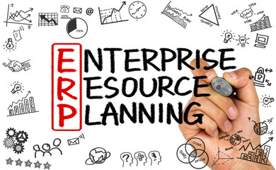 ERP concept:enterprise resource planning