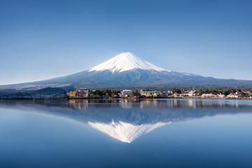Wall Mural - Berg Fuji in Kawaguchiko Japan