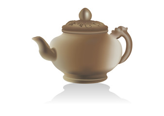 Сeramic teapot