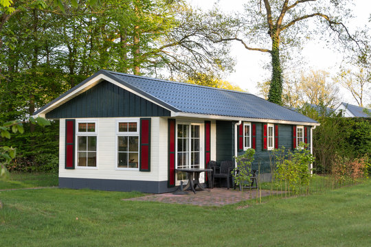 Wooden holiday home in the Netherlands