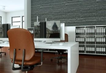 modernes Büro - Visualisierung