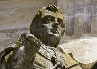 Statua in pietra leccese - Piazza Duomo - Lecce