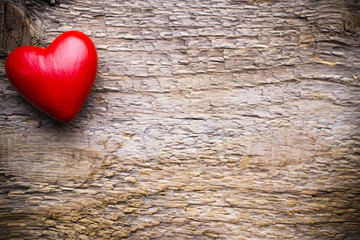 Heart. Greeting card.
