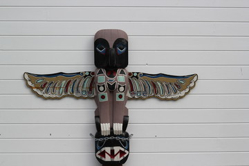 Totem of Alaska
