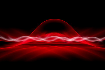 Obraz Spectacural Red Abstract - fototapety do salonu