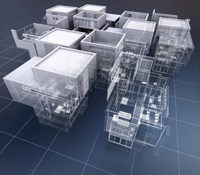 Business building architecture