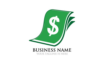 Money Sheet Logo Template