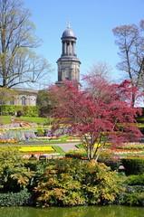 The Dingle garden, Quarry Park, Shrewsbury.