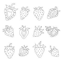 Strawberry set.
