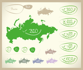 Bio Map - Russia RU