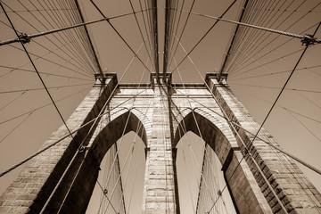 Wall Mural -  Brooklyn bridge, New York City
