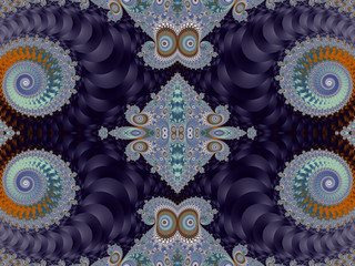 Beautiful Background with Spiral Pattern. Purple and gray palett