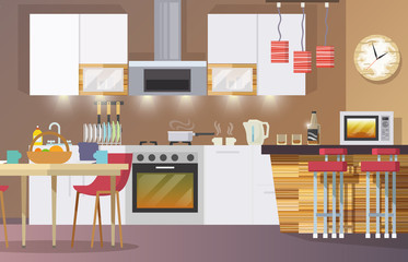 Kitchen Interior Flat