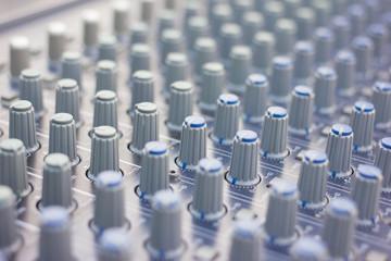 Music mixer (selective focus)