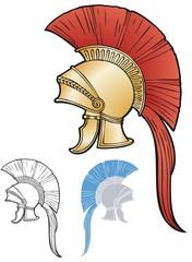 Greco-Roman helmet