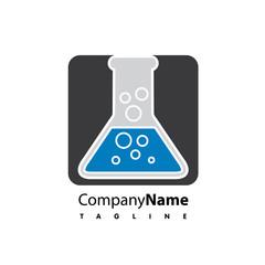 Lab vector logo icon