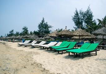 Paradise beach in caribbean tropical
