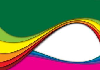 onda colorata
