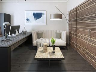 Secretary room avant garde style