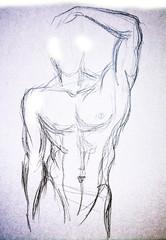 Man torso Sketch