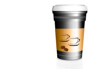 Kaffee to go, freigestellt