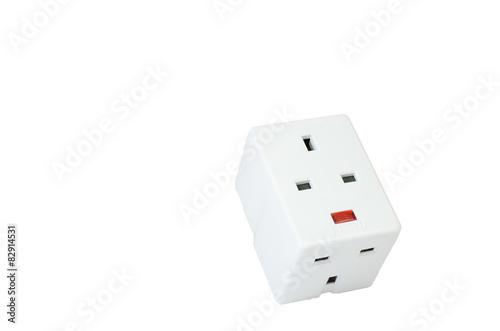 Three way electric socket\
