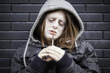 Sick girl drugs