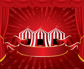 tent circus stage