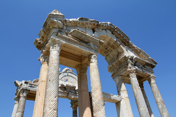 Ancient Romanic ruins in Turkey