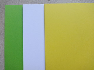 Abstract Colourful Paper Sheets
