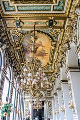 Plafond de la Salle de réception de l'opéra de Lyon