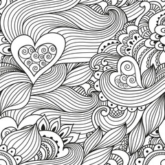 Abstract pattern love