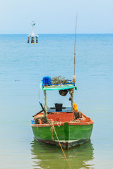 Old fishing boat in Thailand
