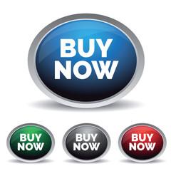 Buy now button set vector