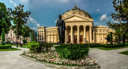 BUCHAREST, RO, MAY 2015: Athenaeum Building.