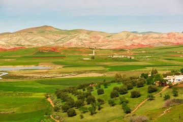 Beautiful landscape in Atlas Mountains