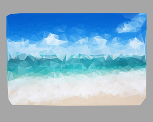 Poli background sea