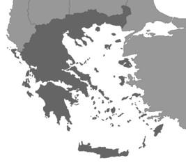 Griechenland Karte